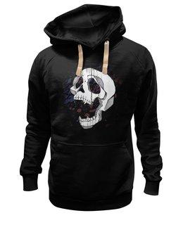 """Толстовка Wearcraft Premium унисекс """"Vampire`s skull"""" - арт"""