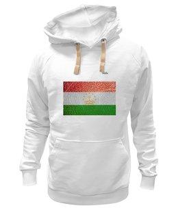 "Толстовка Wearcraft Premium унисекс ""Флаг Таджикистана"" - арт, флаг, tajlife, таджикистана"