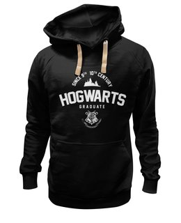 "Толстовка Wearcraft Premium унисекс ""HOGWARTS Graduate by Design Ministry"" - harry potter, гарри поттер, hogwarts, designministry"