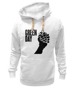 "Толстовка Wearcraft Premium унисекс ""Green Day"" - green day, american idiot, грин дей, армстронг"