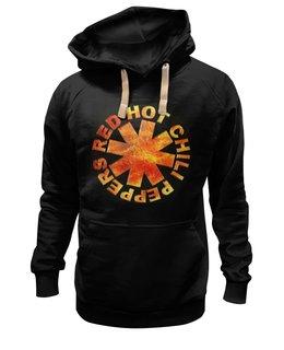 """Толстовка Wearcraft Premium унисекс """"Red Hot Chili Peppers"""" - арт, punk rock, alternative rock, funk, красные острые перцы чили"""