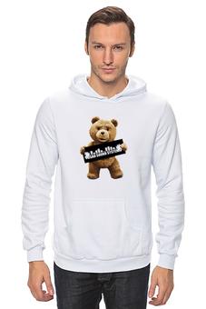 "Толстовка ""Ted PSS"" - арт, bear, медведь, ted, в любви не без медведя"