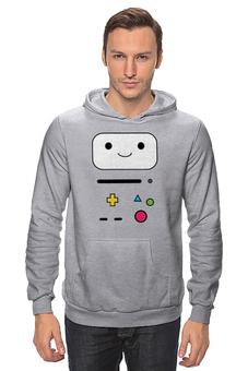 "Толстовка ""BMO  Adventure Time"" - adventure time, время приключений, bmo, бимо"