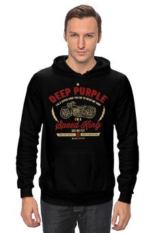 """Толстовка """"Deep Purple"""" - музыка, рок, группы, мотоциклы, deep purple"""