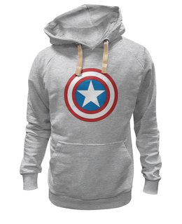 """Толстовка Wearcraft Premium унисекс """"Без названия"""" - комиксы, супергерой, marvel, марвел, капитан америка, captain america"""