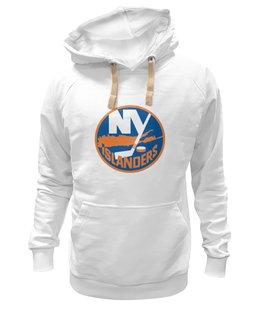 """Толстовка Wearcraft Premium унисекс """"New York Islanders"""" - хоккей, hockey, спортивная, nhl, нхл, ny, islanders, new york"""