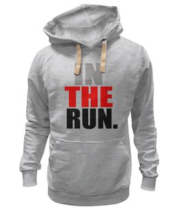 "Толстовка Wearcraft Premium унисекс ""In The Run "" - wiz"