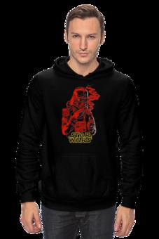 "Толстовка Wearcraft Premium унисекс ""Smoker Vader"" - арт, gangsta, star wars, darth vader, дарт вейдер, звёздные войны, pulp fiction"