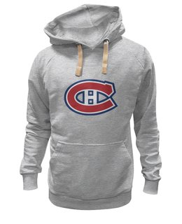 "Толстовка Wearcraft Premium унисекс ""Montreal Canadiens"" - хоккей, hockey, спортивная, nhl, нхл, montreal canadiens"