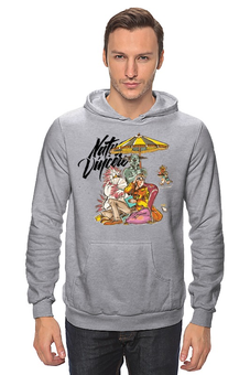"Толстовка Wearcraft Premium унисекс ""Natus Vincere (Na'Vi) – Illustration Grey"" - game, dota, dota 2, navi, natus vincere, monsters, дота, edward, киберспорт, dendi"