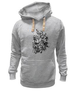 """Толстовка Wearcraft Premium унисекс """"индеец"""" - арт, стиль, рисунок, в подарок, оригинально, девушке, парню, индеец, креативно, авторский рисунок"""