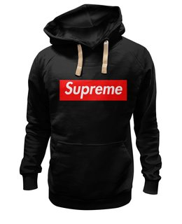 "Толстовка Wearcraft Premium унисекс ""Supreme "" - арт, supreme, clothing, nyc"