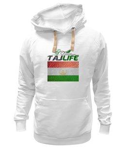 "Толстовка Wearcraft Premium унисекс ""Флаг Таджикистана"" - флаг, таджикистана"