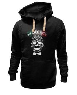 """Толстовка Wearcraft Premium унисекс """"Без названия"""" - череп, узор, мексика, mexico, мехико"""
