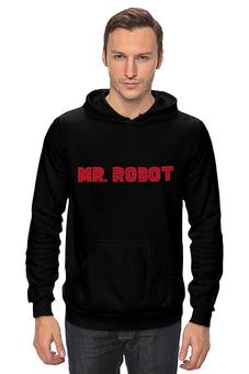 """Толстовка Wearcraft Premium унисекс """"MR. ROBOT"""" - robot, мистер робот, сэмом эсмейлом, usa network"""