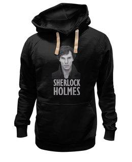 "Толстовка Wearcraft Premium унисекс ""Sherlock Holmes"" - шерлок, ватсон, cumberbatch, камбербэтч, sherlock"