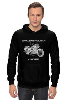 "Толстовка ""Kawasaki Vulcan"" - мото, kawasaki, чоппер, vulcan"
