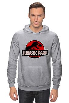 "Толстовка Wearcraft Premium унисекс ""jurassic park "" - парк юрского периода, jurassic park"