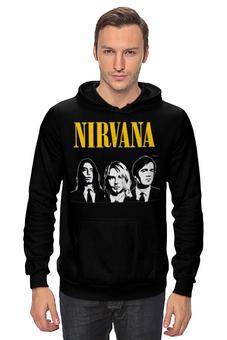 """Толстовка """"Nirvana """" - гранж, nirvana, kurt cobain, курт кобейн, нирвана"""