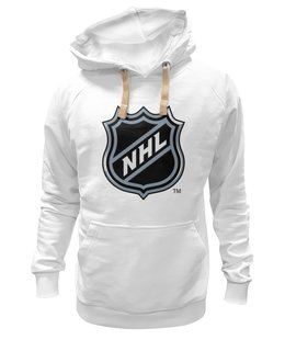 "Толстовка Wearcraft Premium унисекс ""Национальная Хоккейная Лига"" - хоккей, nhl, нхл, национальная хоккейная лига, national hockey league"