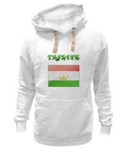 "Толстовка Wearcraft Premium унисекс ""Флаг Таджикистана"" - tajlife, флаг таджикистана"