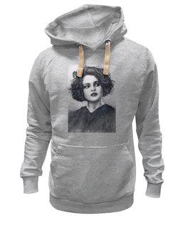 """Толстовка Wearcraft Premium унисекс """"Helena Bonham Carter"""" - арт, авторские майки, в подарок, портрет, helena bonham carter"""