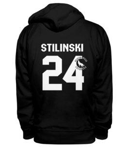 "Толстовка Wearcraft Premium унисекс ""Stilinski 24"" - волчонок, teen wolf"