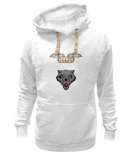 """Толстовка Wearcraft Premium унисекс """"Волк (Восточный стиль)"""" - волк, tajlife"""