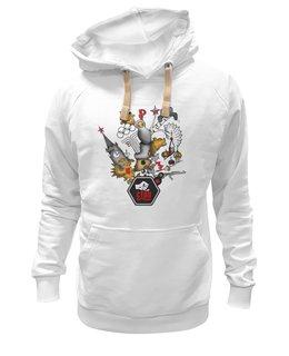 """Толстовка Wearcraft Premium унисекс """"Патриот России *special edition """" - арт, патриот, россия, политика, kravtsova"""