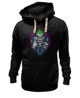 """Толстовка Wearcraft Premium унисекс """"The Joker"""" - джокер, киногерои, отряд самоубийц, любителям комиксов, киноману"""