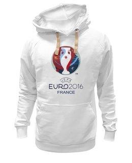 "Толстовка Wearcraft Premium унисекс ""ЕВРО 2016"" - франция, евро, uefa, 2016, evro"
