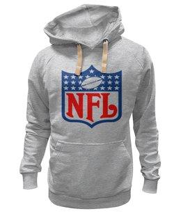 "Толстовка Wearcraft Premium унисекс ""NFL"" - авторские майки, американский футбол, american football, нфл"