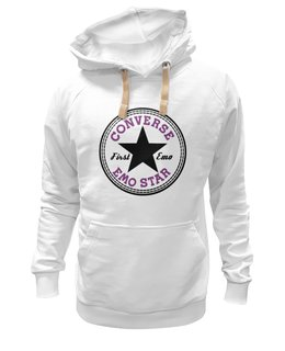 "Толстовка Wearcraft Premium унисекс ""Converse Emo sweatshirt"" - converse, all star, e-one, emo star, first emo"