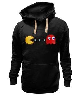 """Толстовка Wearcraft Premium унисекс """"Pacman"""" - арт, модно, star, ретро, рисунок, кино, в подарок, оригинально, стильно, творчество"""