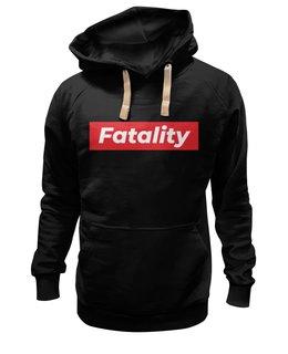 "Толстовка Wearcraft Premium унисекс ""Fatality"" - swag, supreme, mortal kombat, mk, fatality"