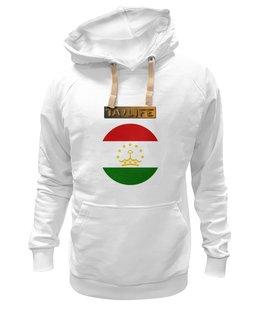 "Толстовка Wearcraft Premium унисекс ""Флаг Таджикистана"" - флаг таджикистана"