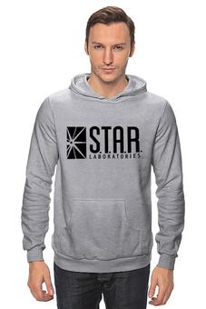 "Толстовка Wearcraft Premium унисекс ""S.T.A.R. Labs"" - флэш, flesh, лаборатории стар"