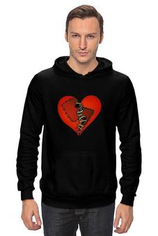 """Толстовка """"Любовь """" - сердце, любовь, heart, patched heart"""