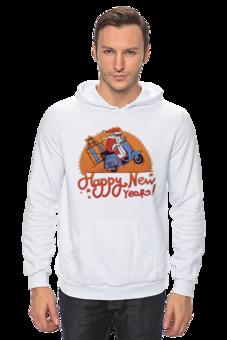 """Толстовка Wearcraft Premium унисекс """"New year"""" - новый год, christmas, новогодняя"""