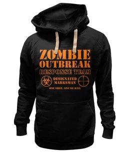 "Толстовка Wearcraft Premium унисекс ""Зомби апокалипсис. Отряд быстрого реагирования"" - zombie, зомби, ходячие мертвецы, walking dead, зомби апокалипсис"