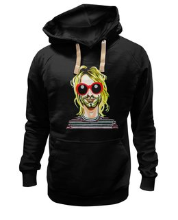 "Толстовка Wearcraft Premium унисекс ""Nirvana "" - grunge, гранж, супер, арт, nirvana, стиль, kurt cobain, курт кобейн"
