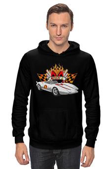 """Толстовка """"Спиди Гонщик"""" - speed racer, спиди гонщик, мак-5, mach 5"""