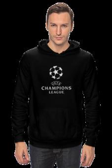 "Толстовка Wearcraft Premium унисекс ""UEFA  CHAMPIONS LEAGUE"" - футбол, football, uefa, лига чемпионов, league, уефа, champions"