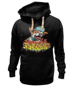 """Толстовка Wearcraft Premium унисекс """"Punk rock"""" - rock, punk rock"""