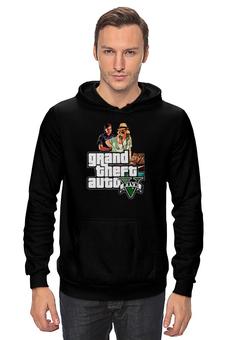 "Толстовка Wearcraft Premium унисекс ""Grand Theft Auto V"" - gta, gta5, grand theft auto v"