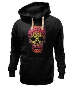 "Толстовка Wearcraft Premium унисекс ""Черепа"" - skull, череп, кости"