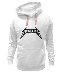 """Толстовка Wearcraft Premium унисекс """"metallica"""" - рок, metallica, металлика"""