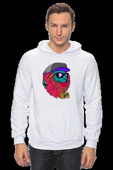 """Толстовка Wearcraft Premium унисекс """"Swag boy"""" - прикольно, арт, приколы, авторские майки, футболка, животные, спорт, популярные, girl, прикольные"""