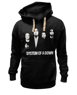 """Толстовка Wearcraft Premium унисекс """"System of a down"""" - rock, system of a down, soad, metall"""
