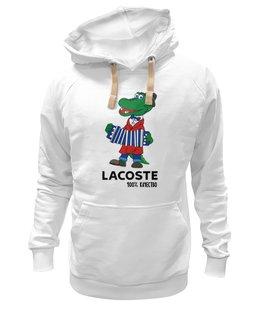 "Толстовка Wearcraft Premium унисекс ""гена лакост"" - lacoste, крокодил гена, лакост"
